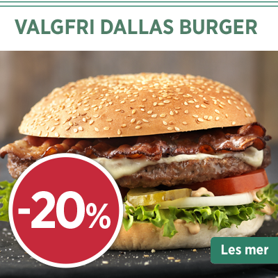 Valgfri Dallas Burger